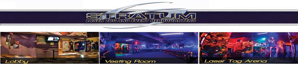 up to 8 games of laser tag at stratum in mesa az will be available for participants from 5 9 pm on the day of the event late arrival is